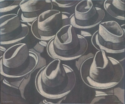 Tony Magner Sea of Hats